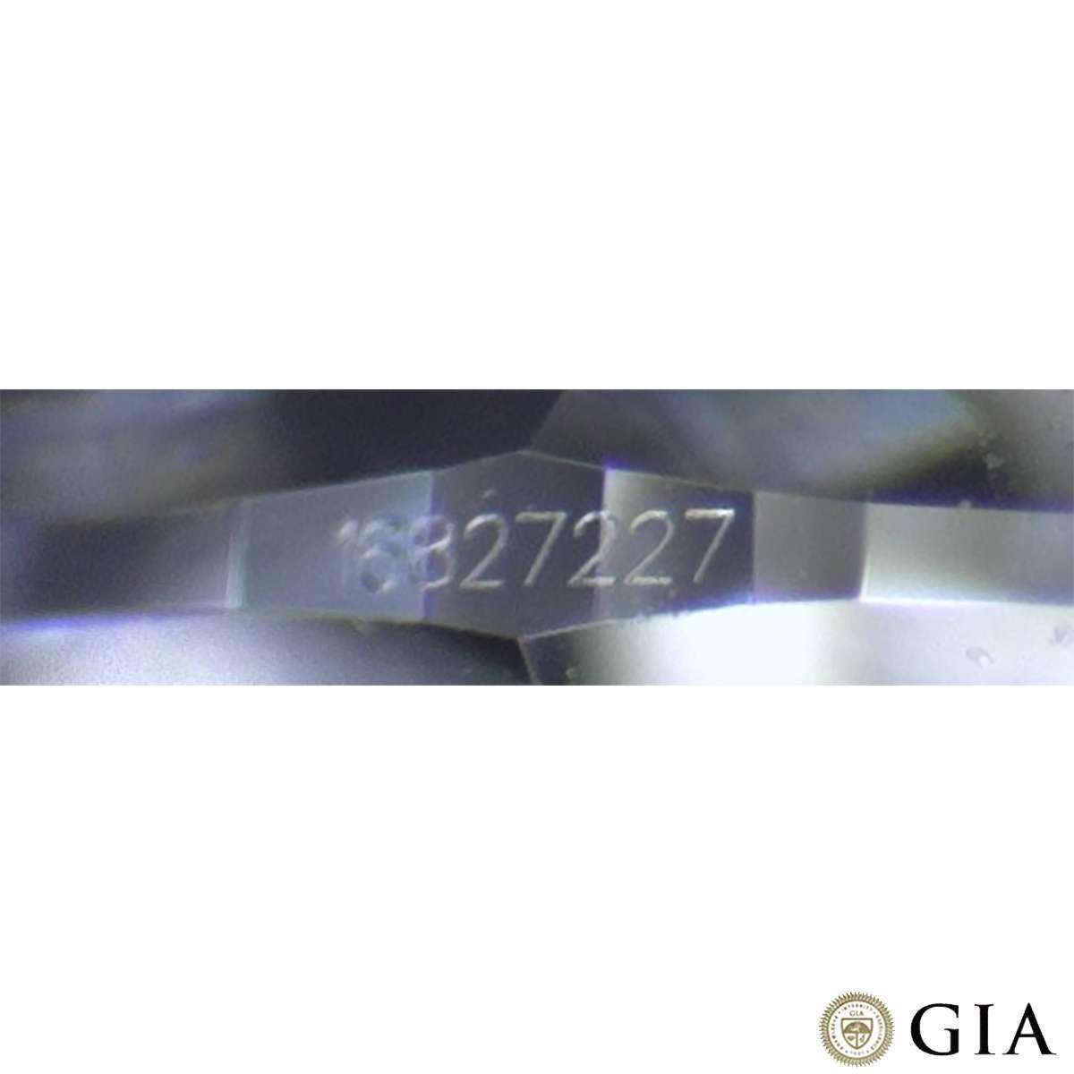Round Brilliant Cut Diamond Platinum Ring 1.15ct D/VVS2 XXX